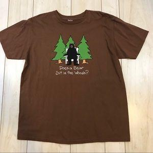 Hatley Organics Brown Bear Graphic Tee T-Shirt